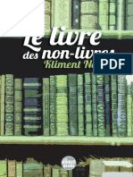 Kliment Nemet - Le livre des non-livres