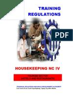 TR Housekeeping NC IV