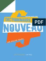 LeS dOiGtS bLeUs - Le dictionnaire du nouveau (édition 2006)