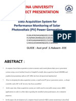 Data Acquisition System for Performance Monitoring of Photovoltaic Pv Power Generation IJERTV1IS7172