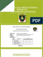 Doctrina de Orden Interno, Público y