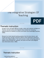 Integrative Teaching