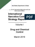 Informe de la Estrategia Internacional de Control de Narcóticos