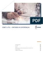 COBIT x ITIL - Entenda as Diferenas