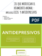 Ansioliticos y antidepresivos