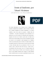 Evola frente al fatalismo, por Eduard Alcántara   Biblioteca Evoliana