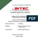 Informe Primer Modular de Practicas Pre Profecionales Bitec