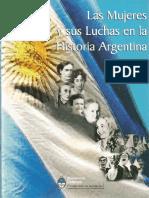 Las Mujeres y Sus Luchas Sociales en La Argentina