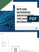 BPM&EnterpriseArchitecture TheCaseforIntegration
