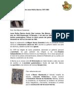 Biografía del Presidente Justo Rufino Barrios 1873.docx