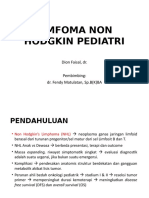 Limfoma Non Hodgkins Pediatri