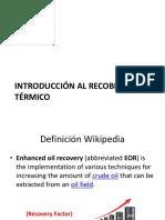 08_Introducción Al Recobro Térmico