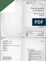 Roberts, A. y Stevens, D. - Historia General de La Música - De Las Formas Antiguas a La Polifonía