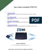 Configurar Como Router