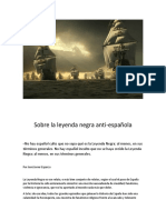 Sobre La Leyenda Negra Anti-española - José Javier esparza