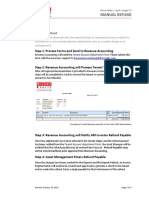 yardi KRC Manual Refund AP