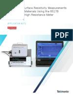 Volume SurfaceResistivity AppNote 1KW 61175 0