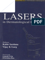 ML Aspects of Lasers in Dermatology