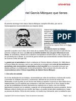 3 Libros Gabriel Garcia Marquez Leer