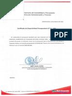 DISPONIBILIDAD_PRESUPUESTARIA