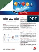 Huawei USG Brochure