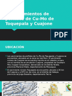 Cuajone y Toquepala