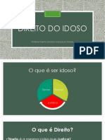 Direito Do Idoso - Slides 2018