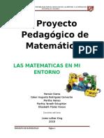 Proyecto Pedagogico - Matematicas 2018.docx
