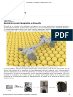 Nanocatalizadores Impregnados en Magnetita.
