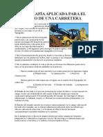 Informe Carretera Huasacache