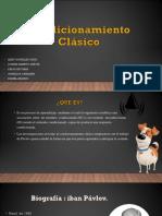 Condicionamiento Clásico. Expo Pptx(1)