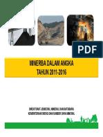 Minerba Dalam Angka 2011-2016