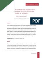 3 - Estrategias Del Afrontamiento Religioso, Estrés y Sexo