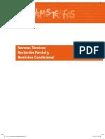 Normas Tecnicas Reclusion Parcial y Remision Condicional