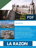Bio. Jorge Eduardo Benavides
