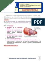 29. Diabetes y Endotelio. 13-04-17