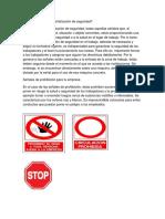 Diferentes clases de señalización de seguridad.docx