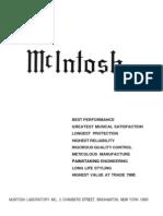 McIntosh Catalog 038-961