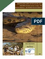 Anacondas spanish