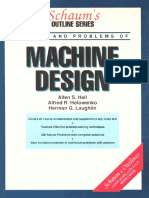 SCHAUM's Outline of Machine Design-1961