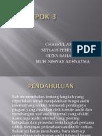 Chapter 12 Audit Internal
