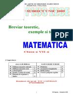 matematica cls7
