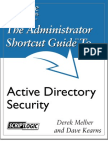Administrator Guide Active Directory Security
