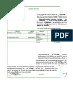 Documento de Constitución Sociedad Ltda