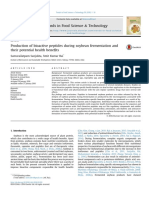1.Production of Bioactive Peptides During Soybean Fermentation and Their Potential Health Benefits