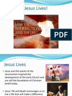 jesus lives - resurrection rb