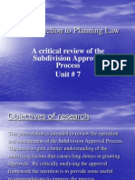 Intro. to Planning Law#7