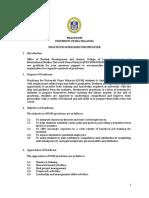 Practicum Guidelines for Employer