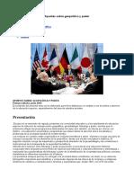 Geopolitica y Poder