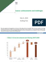 PRC's Green Finance